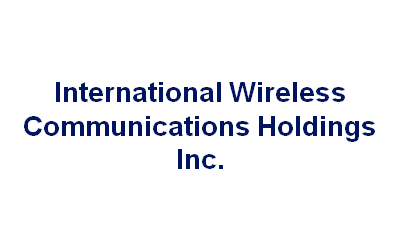 International Wireless Communications Holdings Inc.